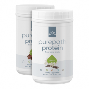 MaxLiving PurePath Protein Bone Broth Protein Powder