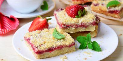 strawberry jam bars recipe