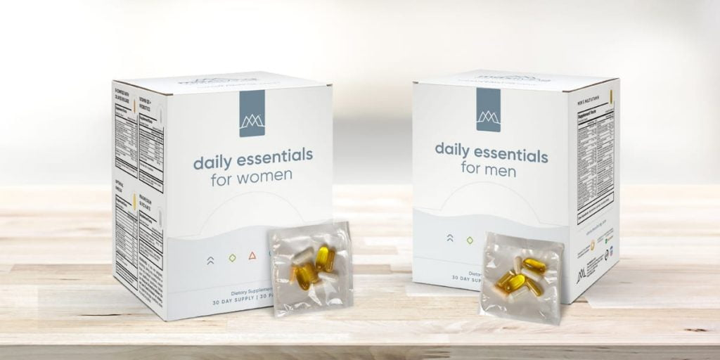 MaxLiving's Daily Essentials Packets