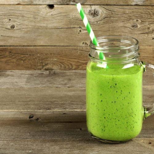 green pistachio smoothie