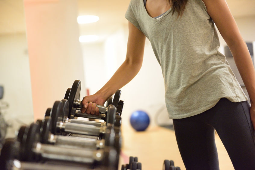 Strength training to build lean muscle