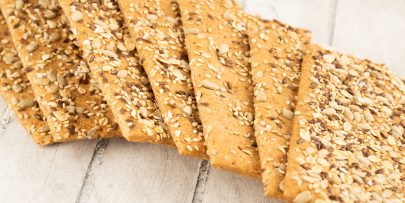 raw vegan flaxseed crackers