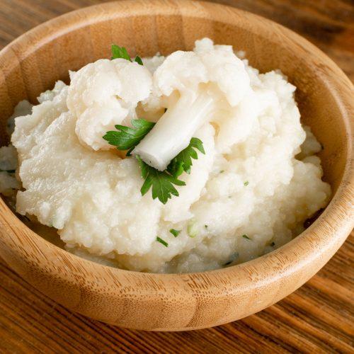 homemade mashed cauliflower recipe