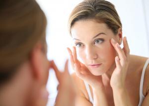 Healthy aging skin and skincare regimen