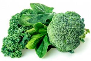 Green vegetables for Detoxification