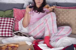 eating too much when your are over-stressed