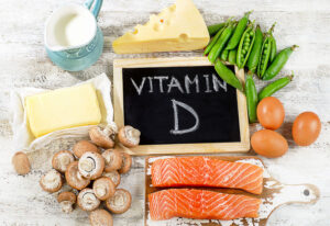 Eat more vitamin D-rich foods to keep you levels healthy and balanced.
