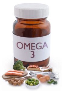 An omega-3 fatty acid supplement can help balance those fatty acids levels.