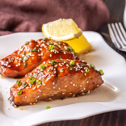 This tasty teriyaki salmon recipe is so quick and easy to make